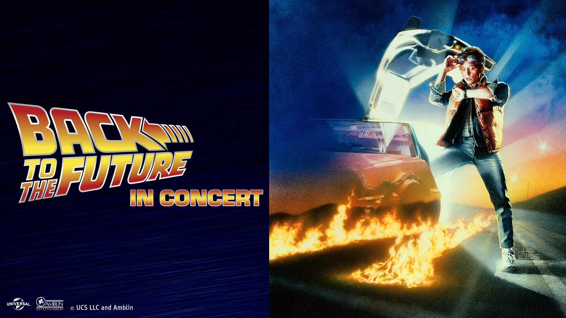 Back to the Future with Live Concert by Jerusalem Symphony